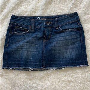Bullhead Denim Mini Skirt Size 0